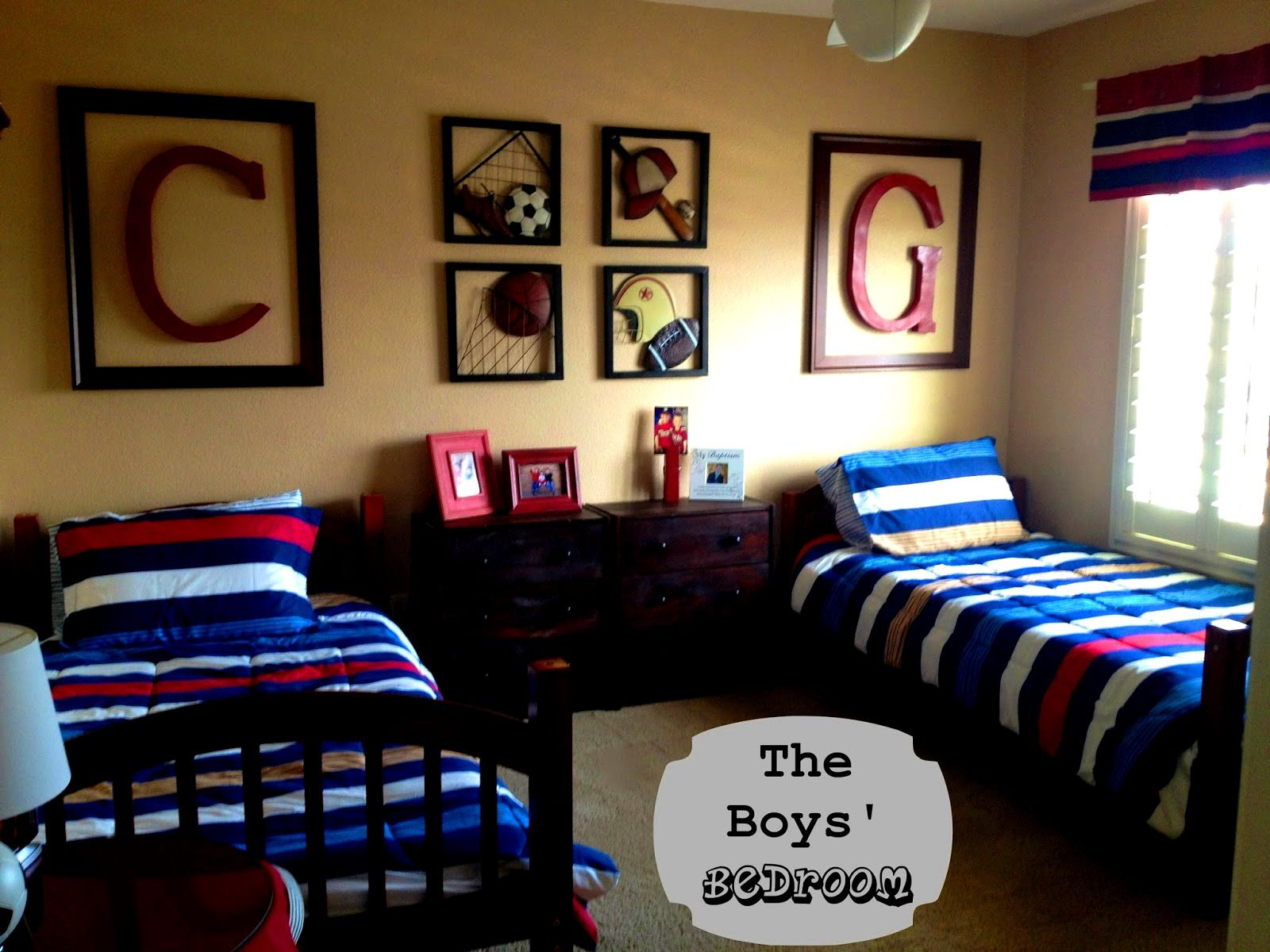 sports room decor for boys wall art ideas for bedroom check