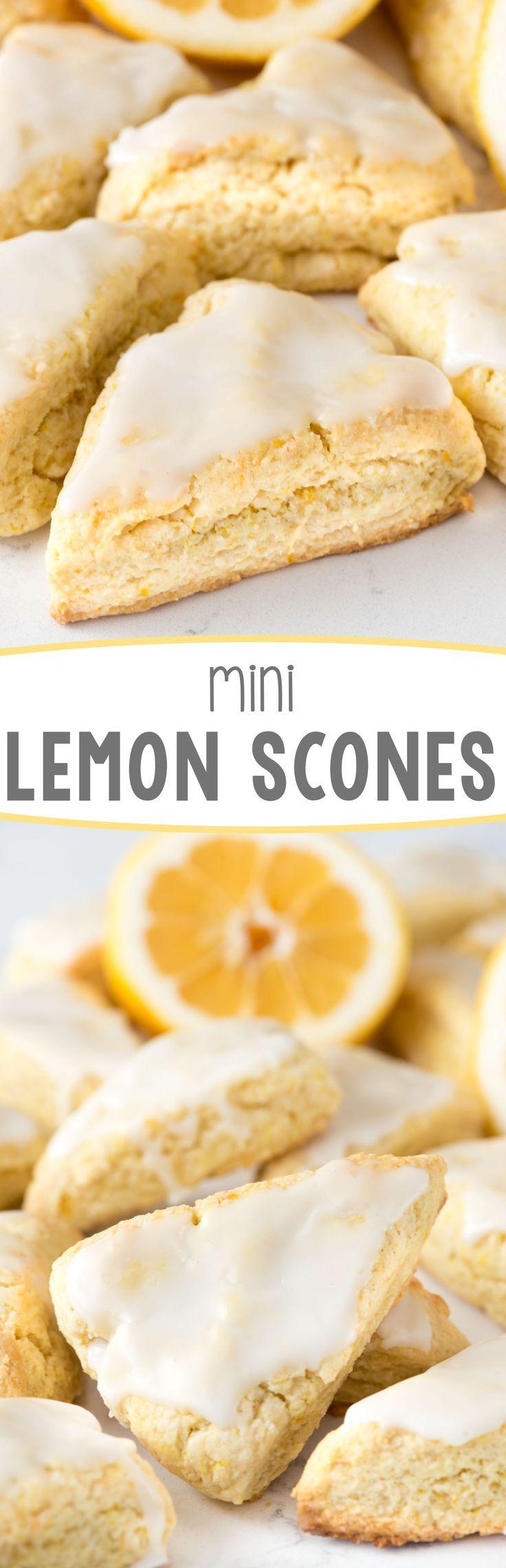 Mini Lemon Scones This Easy Recipe Stays Soft For Days