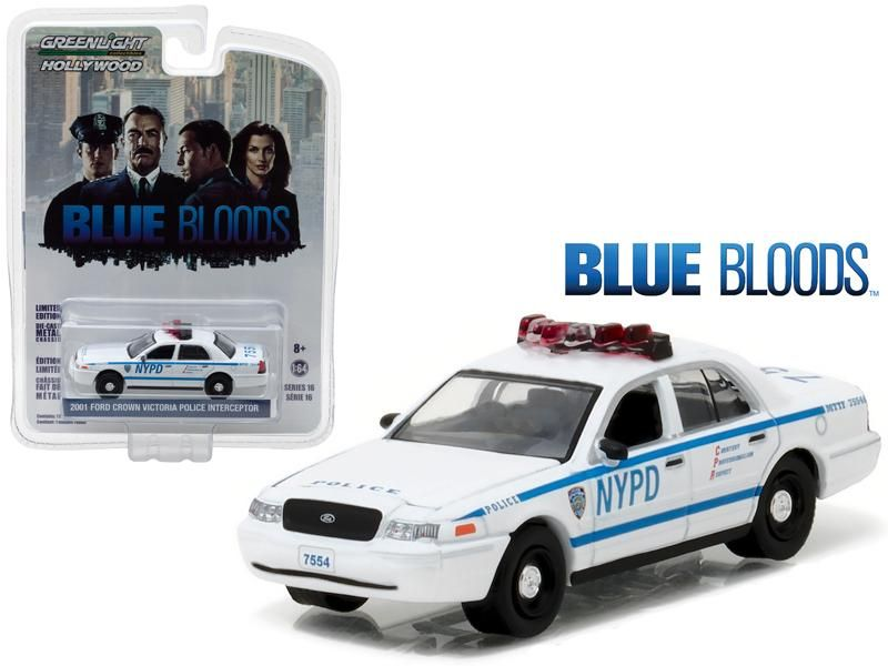 2001 Ford Crown Victoria Police Interceptor New York City Department Nypd Blue Bloods Tv Series 2010 Curre In 2020 Victoria Police Diecast Model Cars New Model Car