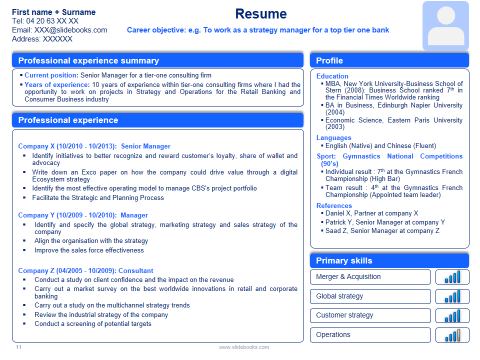 resume cv templates in editable powerpoint resume cv templates