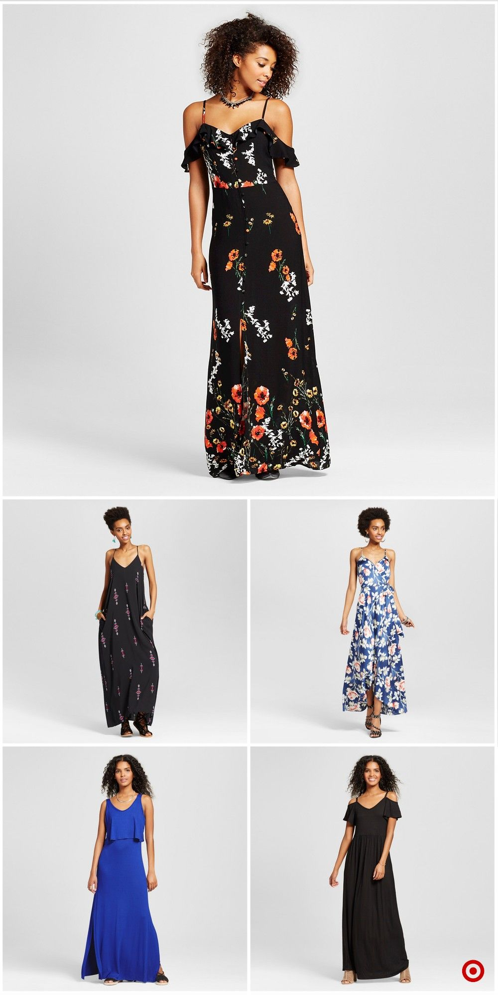 Shop Target For Maxi Dresses You Will Love At Great Low Prices Free Shipping On Orders Of 35 Or Free Same Day Pick Up In Maxi Dress Dresses Cute Maxi Dress [ 2000 x 1000 Pixel ]