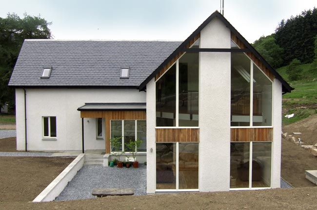 gable end window and doors More