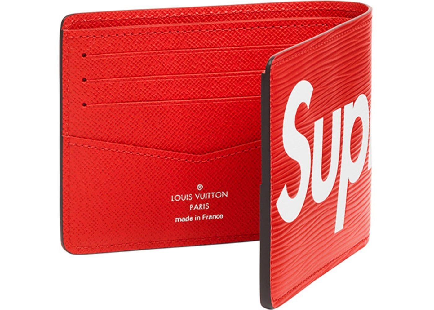 Supreme Wallet Red Louis Vuitton Supreme Louis Vuitton Red Louis Vuitton Wallet