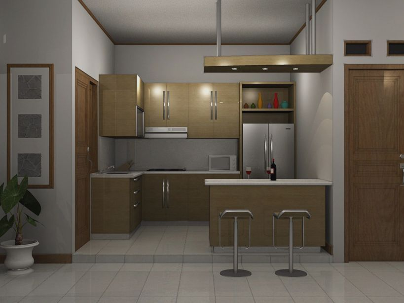 Desain Dapur Minimalis 3x3 Desain Dapur Minimalis Ukuran Kecil
