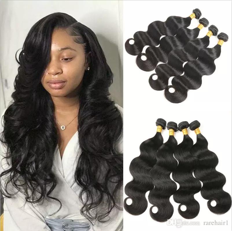 hair extensions human hair 4 bundles