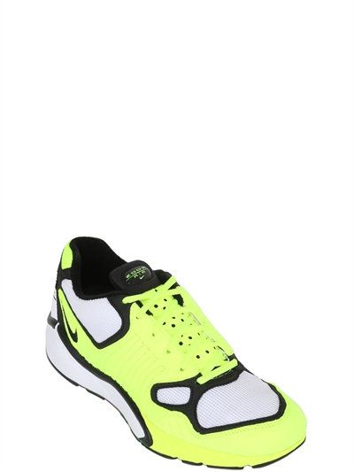 NIKE, Air zoom talaria 16 mesh sneakers, Neon green, Luisaviaroma - Mesh  and faux leather upper. Find this Pin and more on Mens Shoes ...