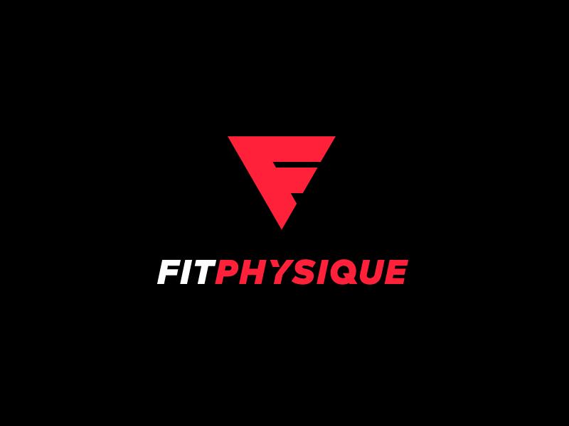 Fitphysique Logo Gym Logo Logos Sports Logo Design