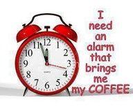 I Need an Alarm Clock...
