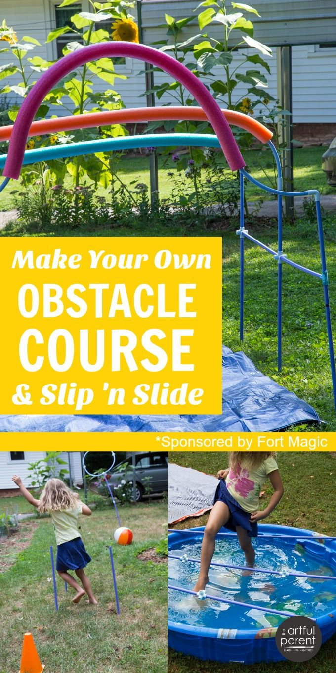 How To Make Your Own Obstacle Course For Kids Kids Obstacle Course Backyard Obstacle Course Outdoor Games For Kids Backyard diy obstacle course