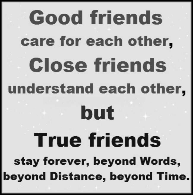 True Friends Stand The Test Of Time Quotes Quote Friends Best