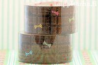 Chocolate tape