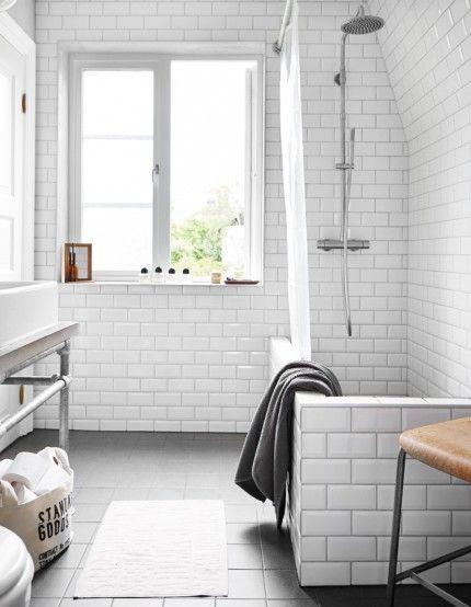 Intérieur Scandinave | Bathroom Ideas | Pinterest | Salle De Bain, Bain  Scandinave And Salle