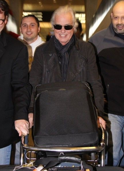 Jimmy Page Photos: Jimmy Page Touches Down in Washington, DC