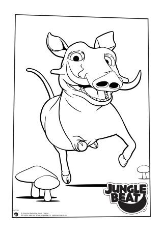 Downloads Archive Jungle Beat Free Coloring Pages Colouring Pages Free Prints