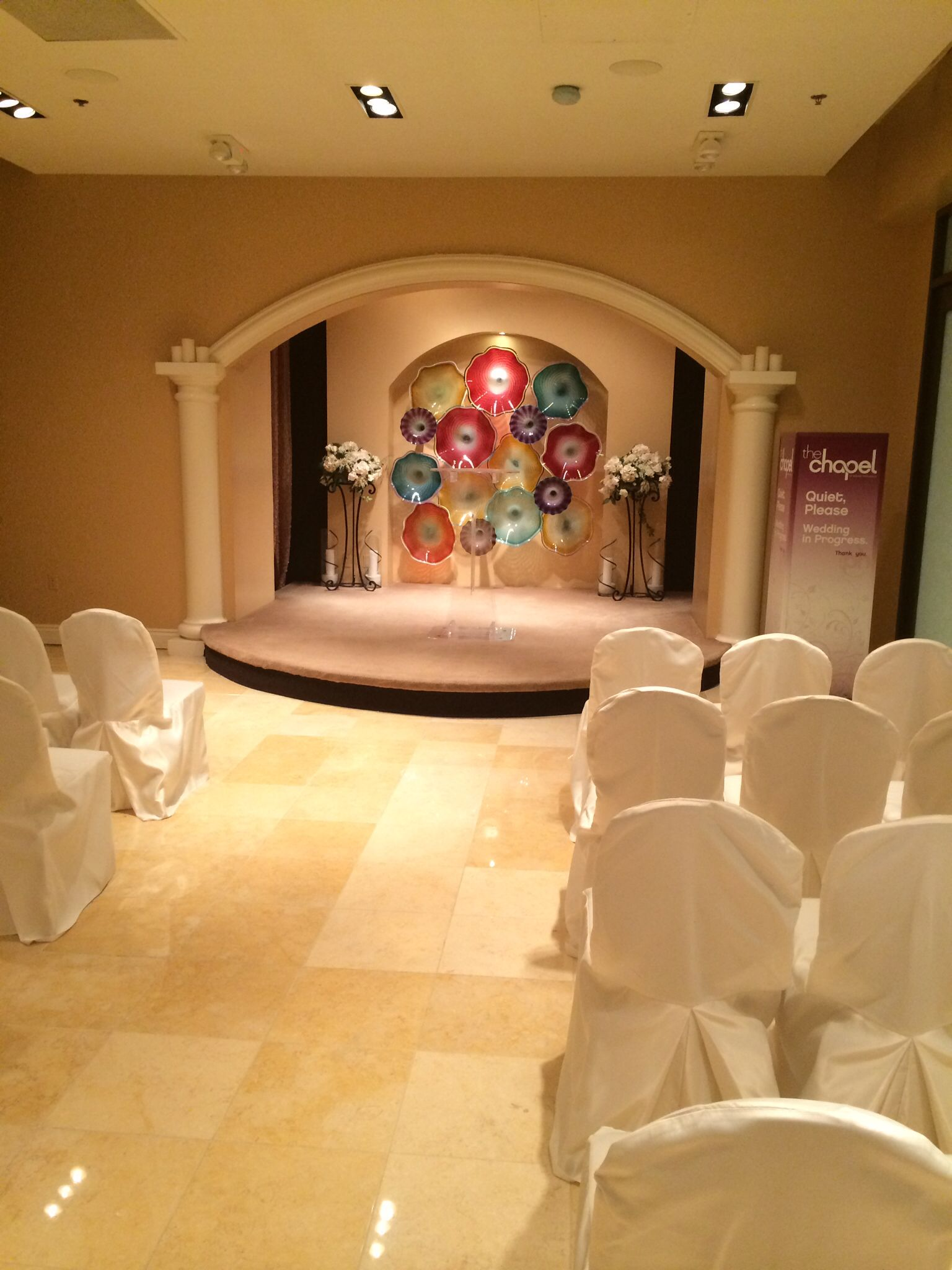 One Of The Coolest Places To Get Married Super Hip Wedding Chapel At Planet Hollywood