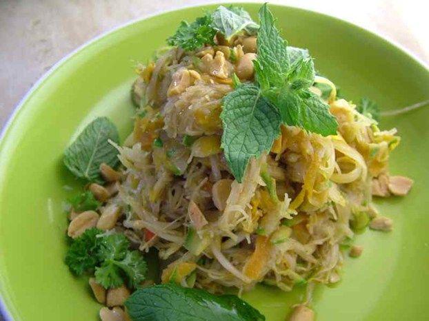 Spaghettini di riso e arachidi un primo piatto di monica - Ricette monica bianchessi pronto in tavola ...