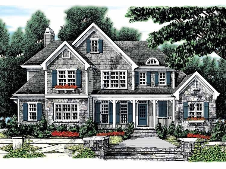 Eplans Country House Plan Rustic Blend 2983 Square