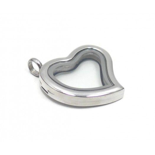 My Journey Locket   Charms Lockets   Heart Silver