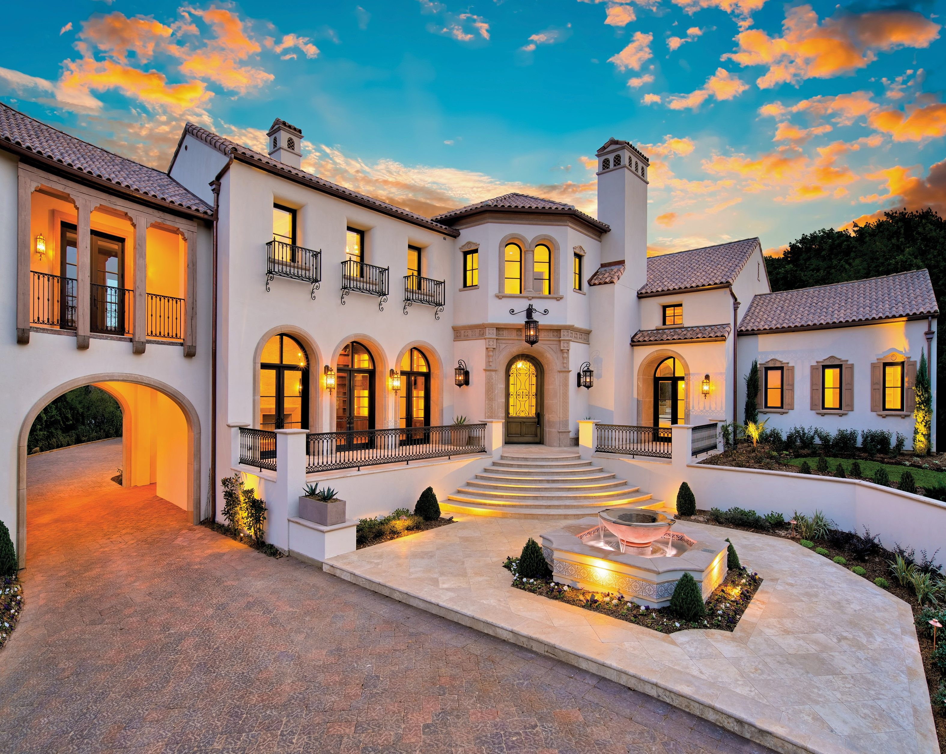 Spanish Revival Estate featured on the front cover of Luxury Home ...