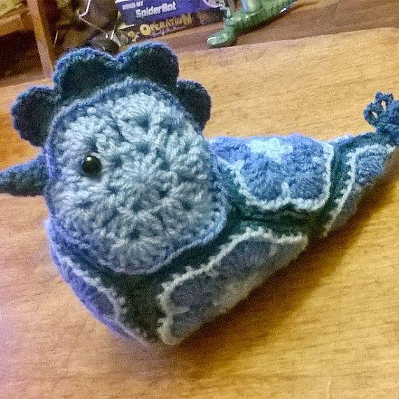 Crocheted African Flower Blue Bird | Pinterest | afrikanische Blumen ...