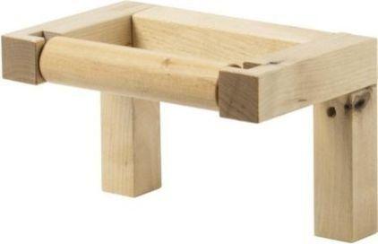 Ikea Molger Toilettenpapierhalter Holz Braun Http Www Amazon De