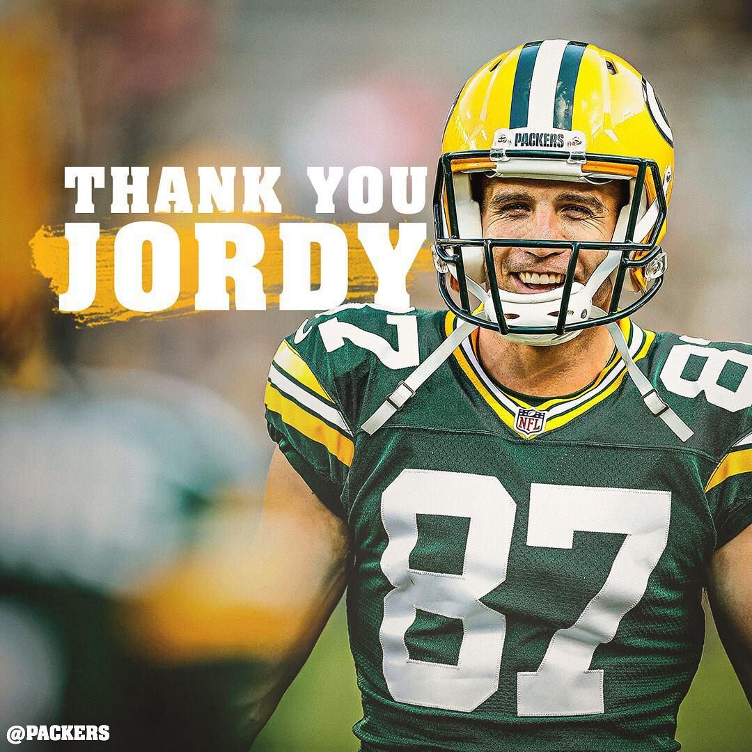 Green Bay Jordy Nelson The Packers Fifth All Time Leading Receiver Is Retiring From The Nfl After 11 Seasons A Seco Jordy Nelson Green Bay Packers Packers