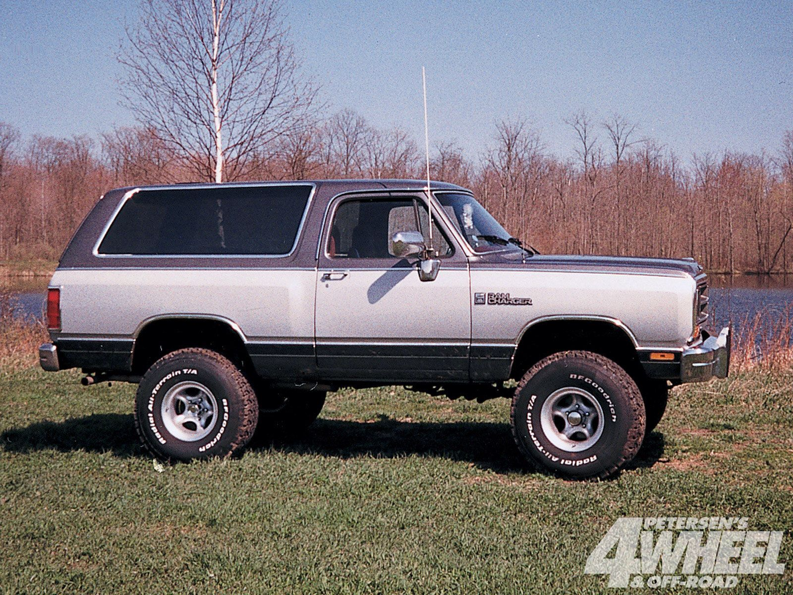 Ramcharger dodge truckslifted