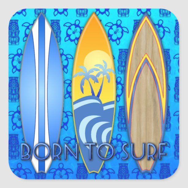Banzai Pipeline Surfing Sticker North Shore Surf Oahu Hawaii Surfboard 3 Vinyl Decal