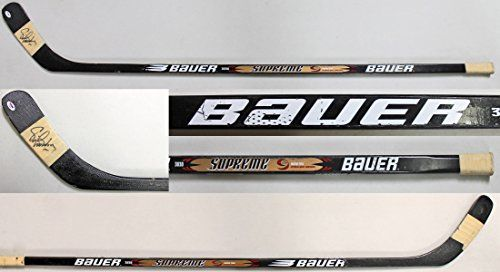 be97c22cb Flyers Eric Lindros Signed Game Used Bauer Supreme Hockey Stick PSADNA  AC43054     Read more at the image link.