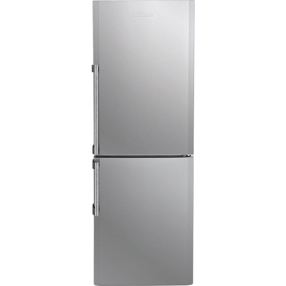 Brfb1042sln Blomberg 24 10 6 Cu Ft Counter Depth Bottom Freezer Refrigerator Refrigerator Appliance Store Adjustable Shelving