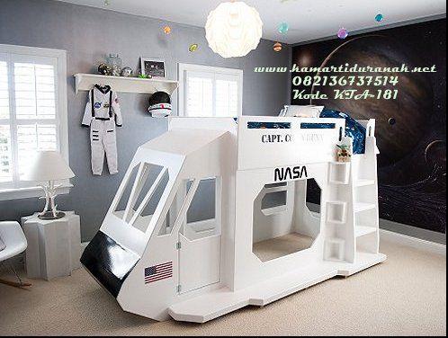Model Tempat Tidur Tingkat Pesawat Luar Angkasa Terbaru Nassa Desain Tempat Tidur Tingkat Pesawat Luar Angkasa