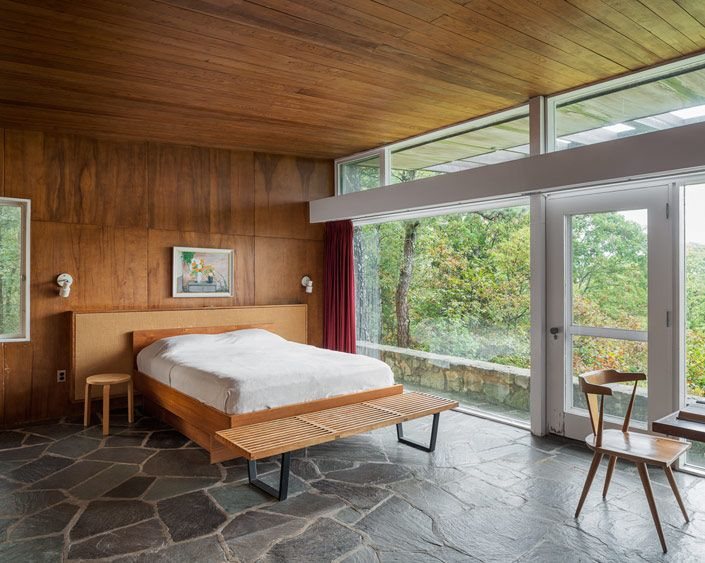 Scott House By Marcel Breuer Mid Century Modern Interiors