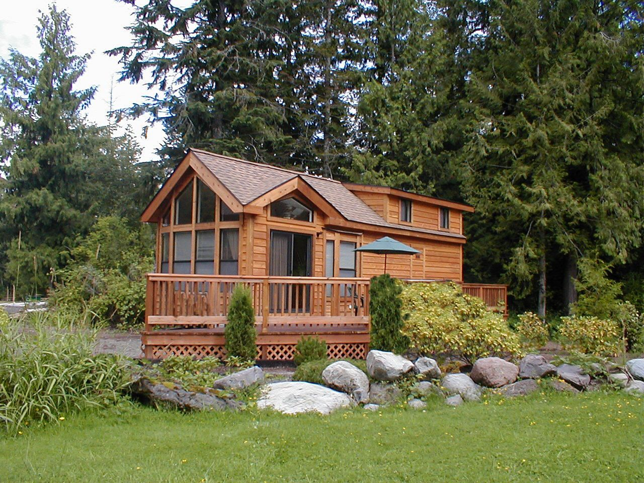 Tiny Home Cabin Mt Hood Village Cavco Creekside Loft