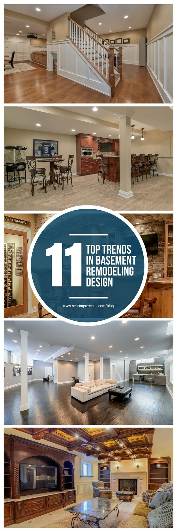 11 Top Trends In Basement Design For 2018 Extra Bedroom Basements And Shelter