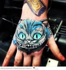 Znalezione Obrazy Dla Zapytania Kot Z Alicji W Krainie Czarów Tatuaż