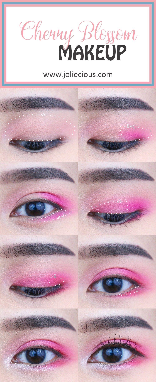 Spring Makeup Tutorial Cherry Blossom Makeup Spring Makeup