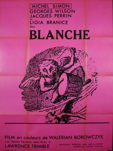 Michel-Simon-J-Perrin-Georges-Wilson-BLANCHE-Walerian-Borowczyk-1971-120x160-B