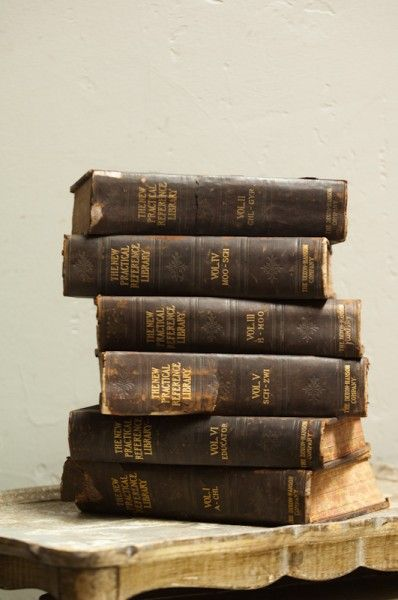 Book Display Antique Books Old