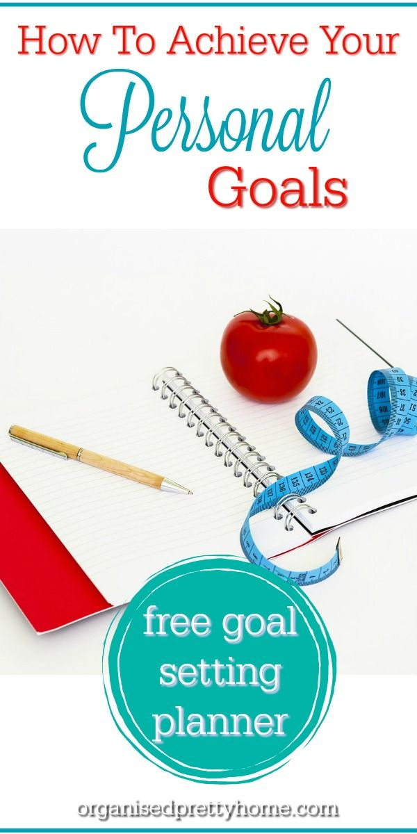 3 Secrets To Setting Awesome SMART Goals (FREE Goal Planner ...