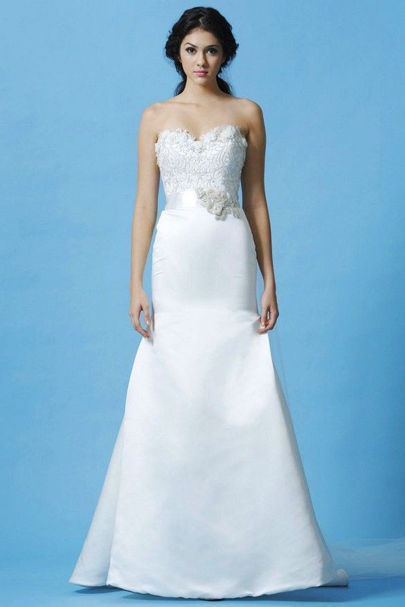STYLE: BL035               Fabric: Royal Duchess Satin  Colors: White or Ivory