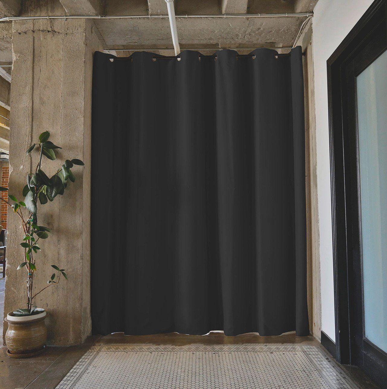 Tension Rod Room Divider Kits Room Divider Curtain Curtains