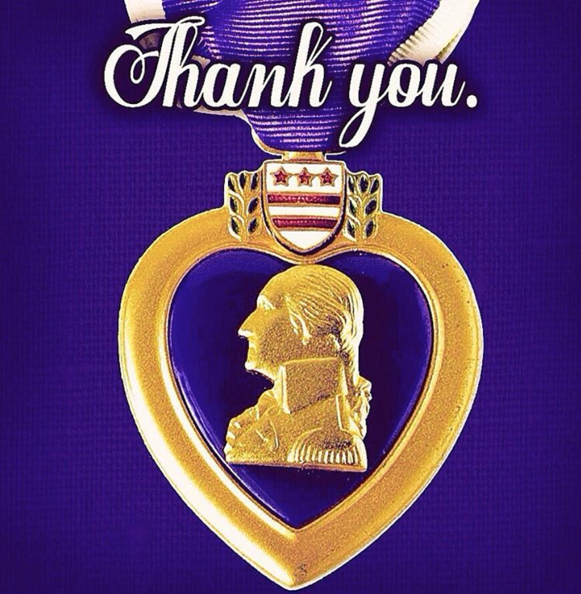8 7 16 Today Is National Purple Heart Day We Could Never Give Enough Thanks To Those Service Men And Women Purple Heart Day Purple Heart Medal Purple Heart