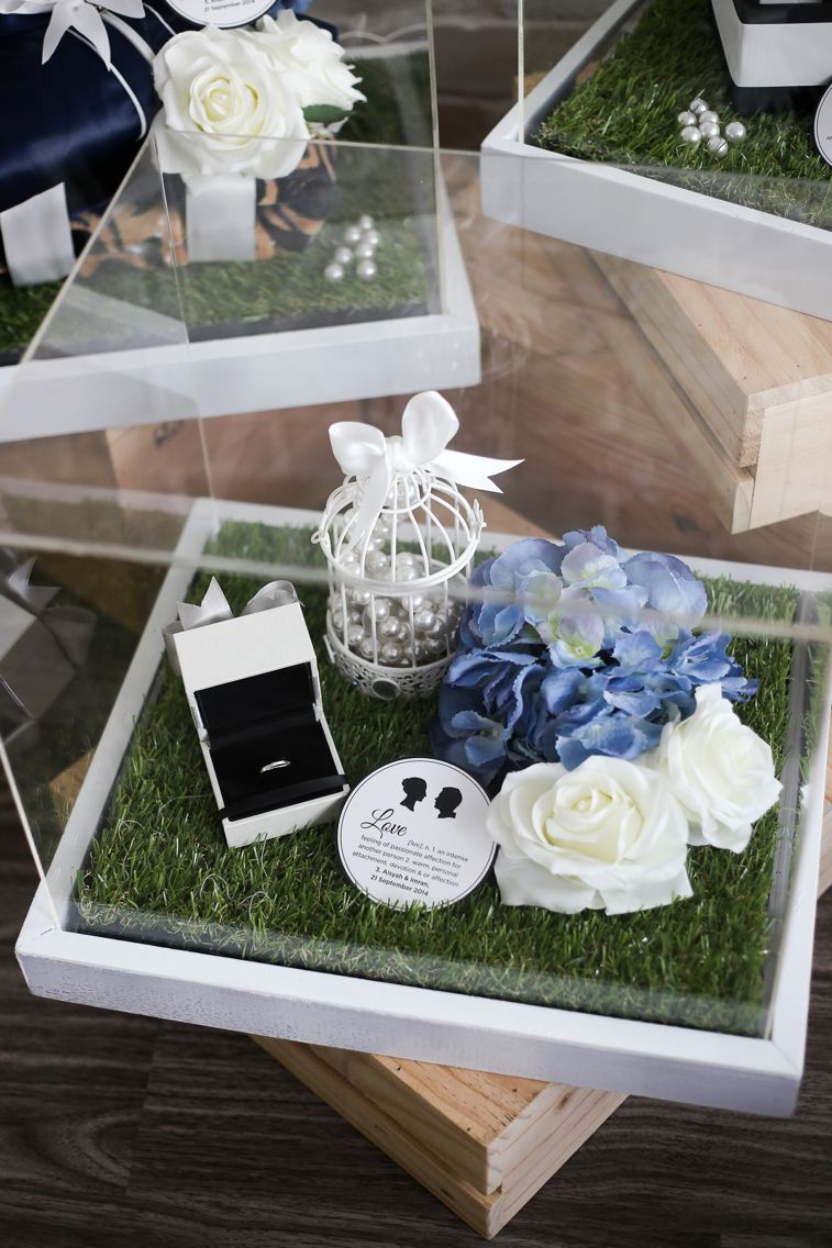 English Garden Themed Gift Trays With Images Wedding Gift