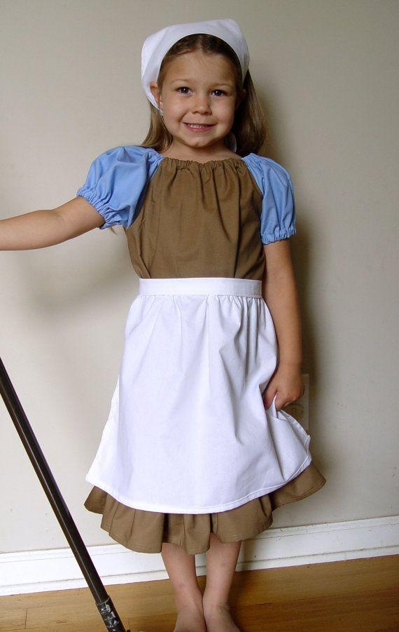 peasant dress, dress up, belle - Google Search