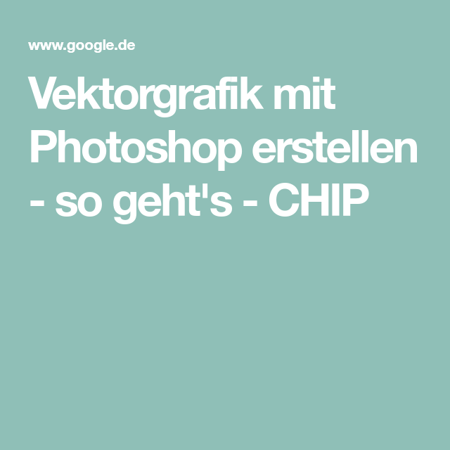 vektorgrafik mit photoshop erstellen so geht s in 2020 einfügen skalierbare
