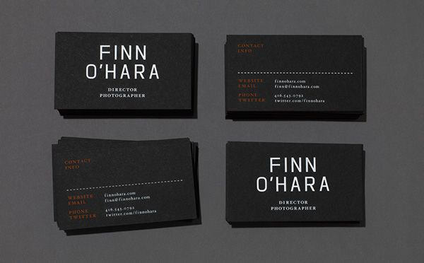 Growing Up With A Father Working At Kodak And Having A Love For Film I Photographer Business Cards Photographer Business Card Design Business Card Inspiration