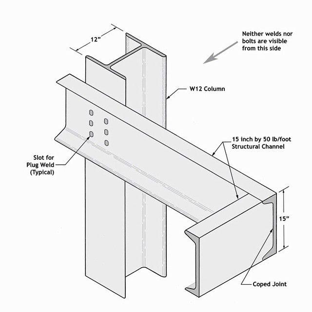 Farnsworth house MVDR detail steel frame #steelframe #steel_glass ...