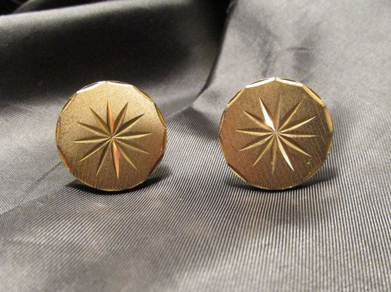 Gorgeous Etched Gold Tone Star Burst Cuff by DresdenCreations, $15.00