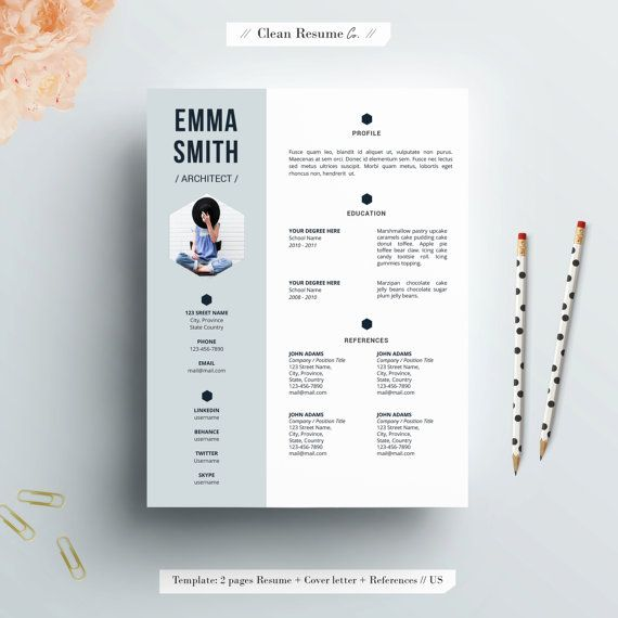 Clean Resume Co provides editable resume templates that will help - resume template skills
