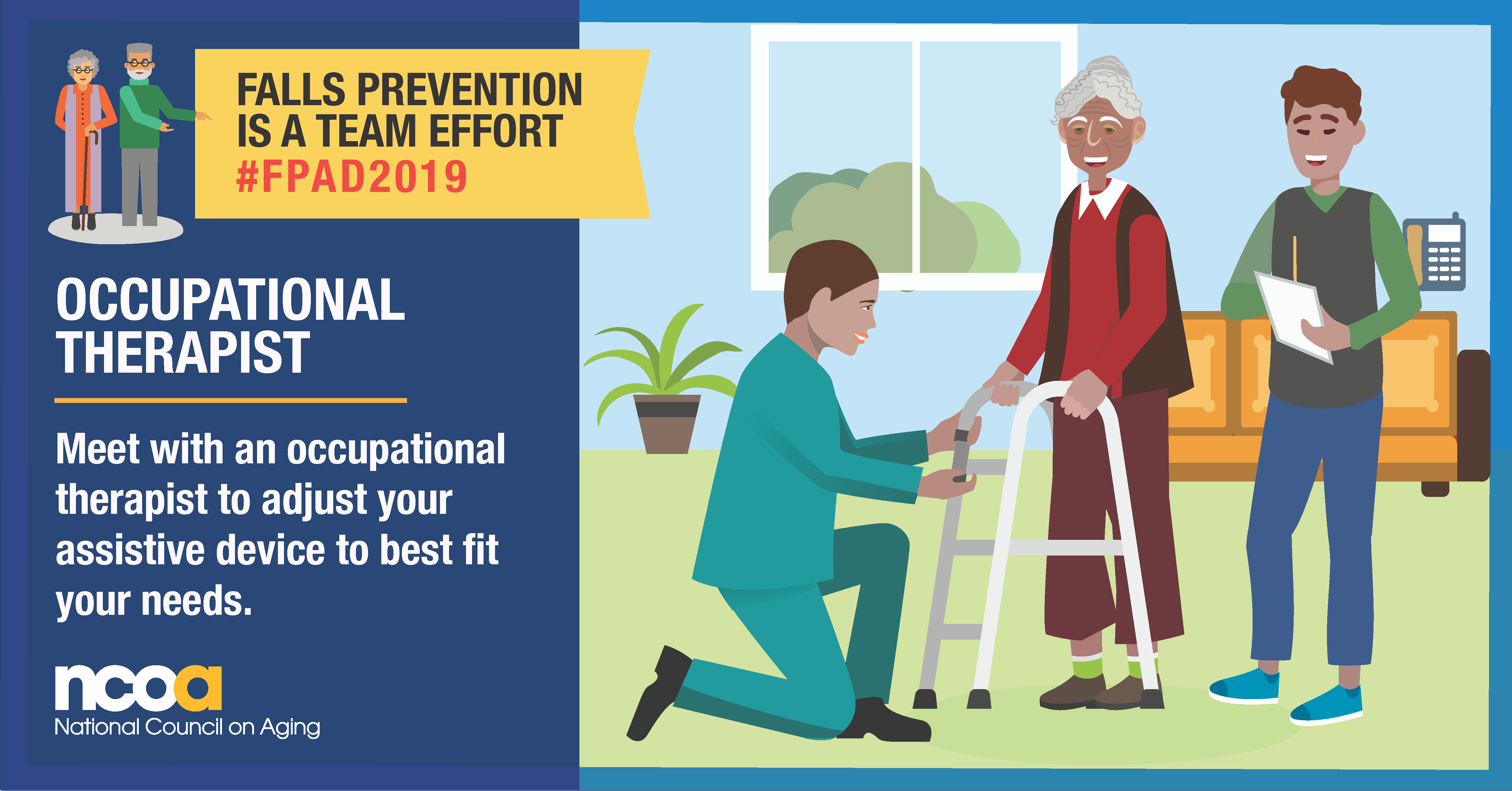 Today is Falls Prevention Awareness Day. Preventing falls